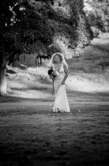 Classic bridal shot