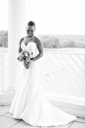 Bridal suite terrace