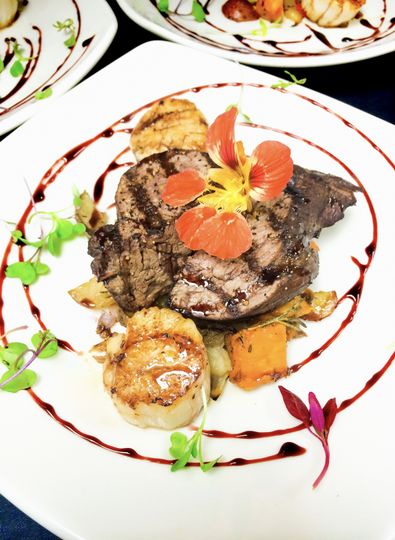 Beef, Scallops & Root Veggies