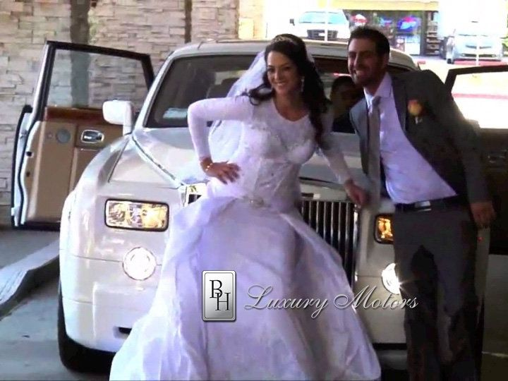Tmx 1358202041742 BrideGroomBHRollsRoycesmiling Beverly Hills wedding transportation