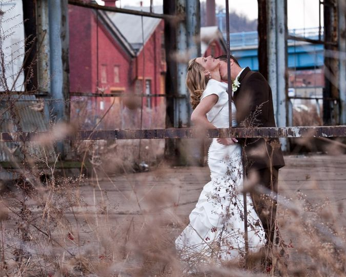 Urban romantic session with photographer scene selection, and let the clients go freestyle with...