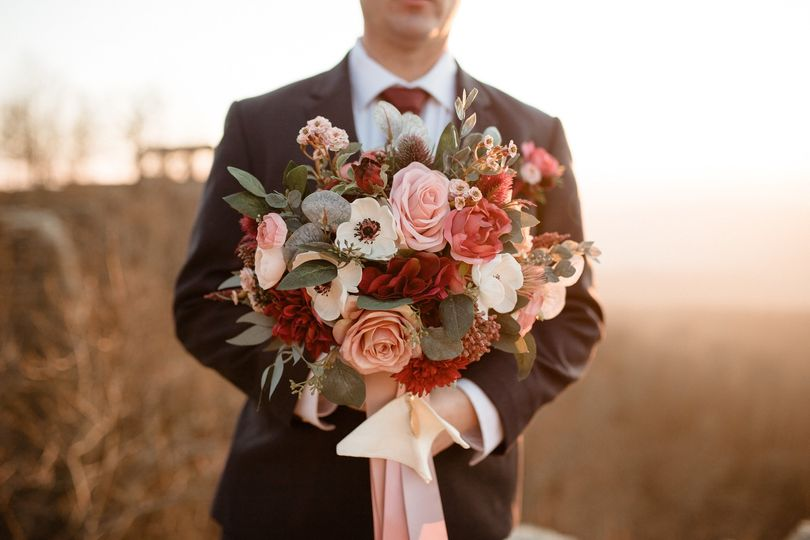 Grooms and florals