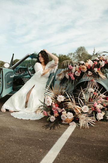 Florals with Bride