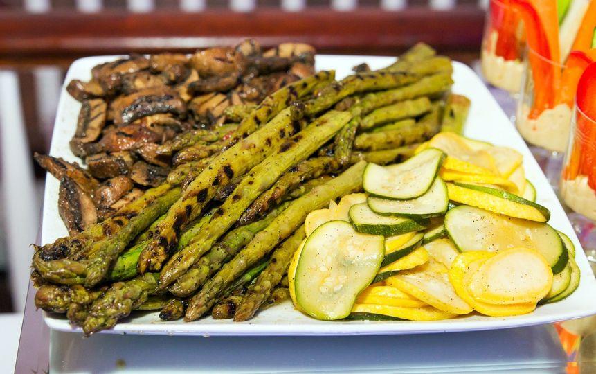 Marinated Veggies Plate