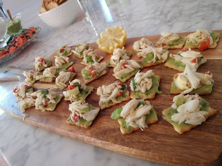 Lump Crab Meat and Avocado