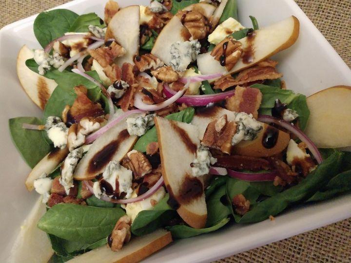 Ponchartain Salad Plate
