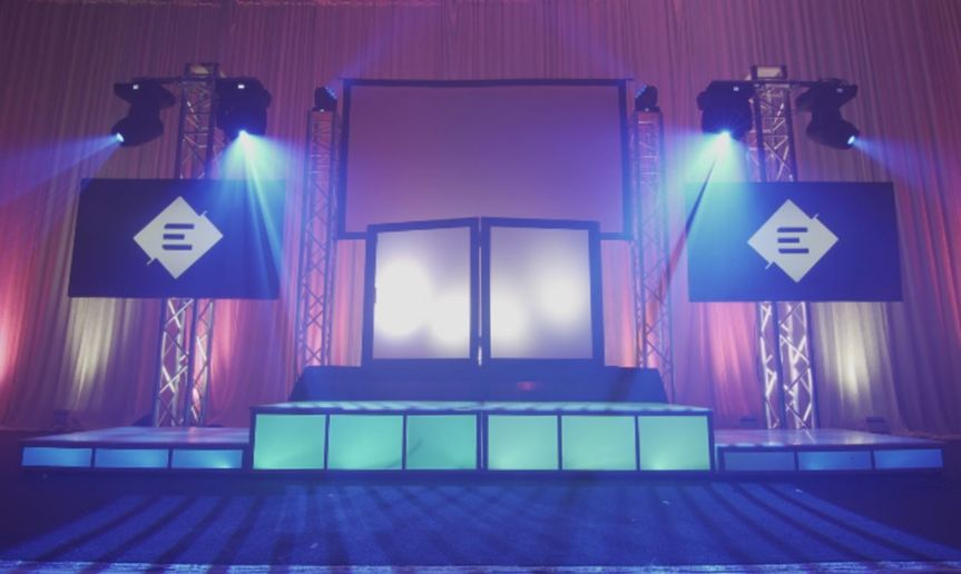 Stage setting and lighting