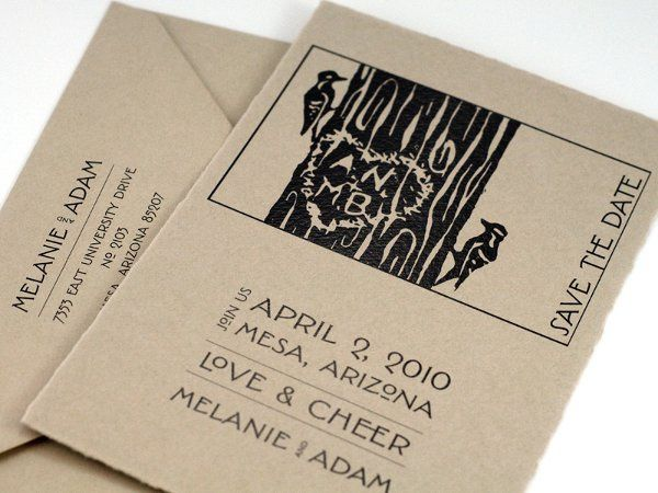 Custom Save the Date Card
