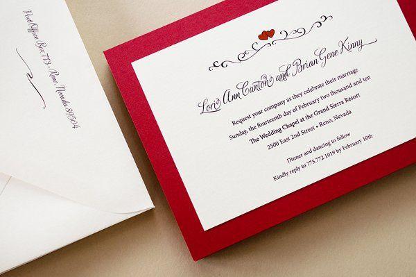 Custom Valentine's Day Wedding