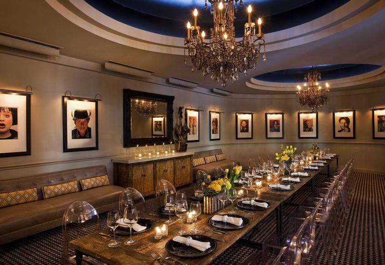 Dragons Den - private dining space.