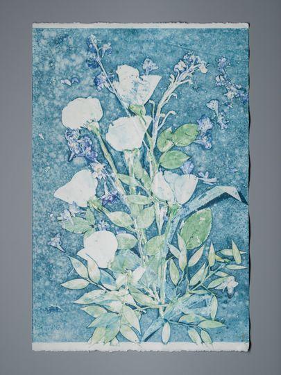 Large bouquet print