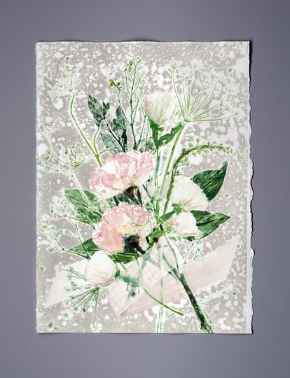 Medium bouquet print
