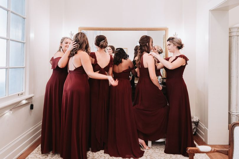 Bridesmaids moment