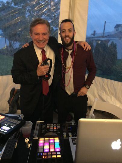 DJ Brandon with Bob Turk