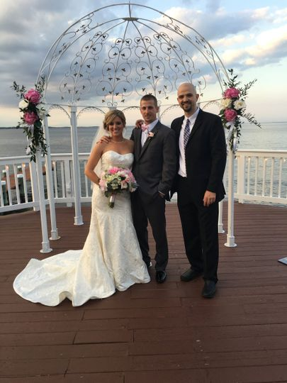 Photo with the newlyweds