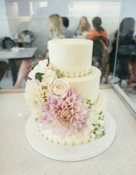 Gold and Pink Floral Wedding