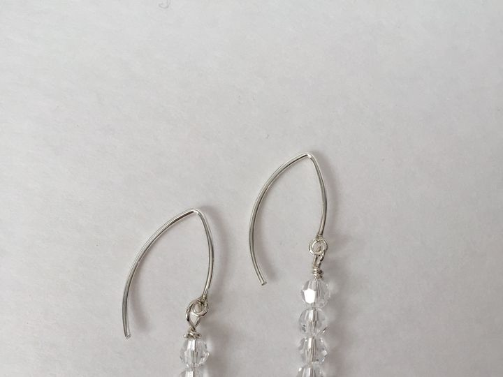 Tmx 1443548888055 Cc0130cc Crystal Paige Earrings Hinckley wedding jewelry