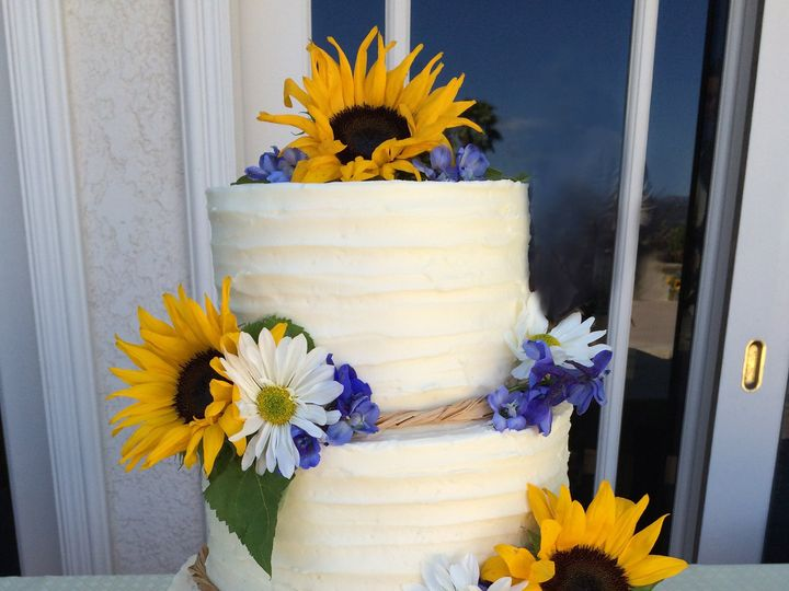 Tmx 1429607101840 Tiffany  Josh Sumner Simi Valley wedding cake