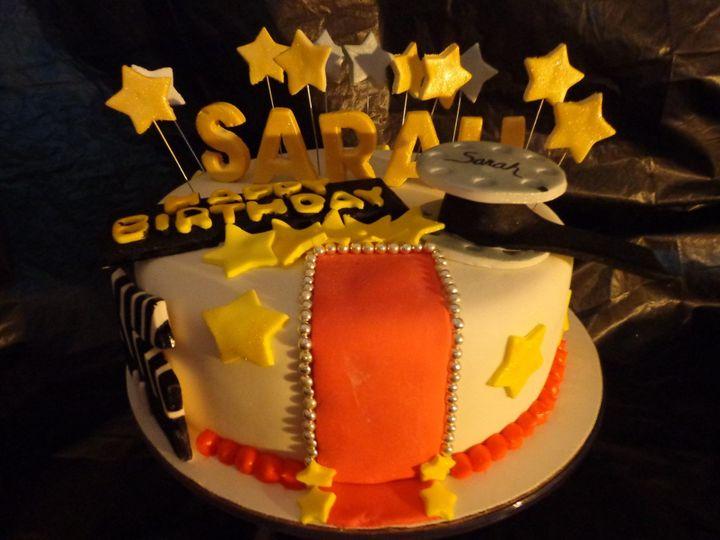 Movie Theather Themed Birthday Cake