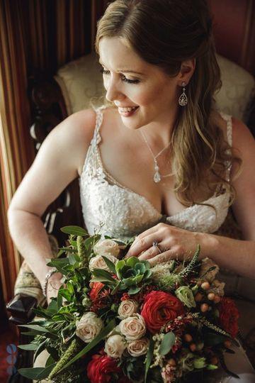 The bride's favorite