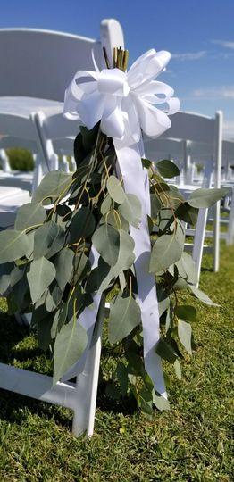 Aisle chair eucalyptus