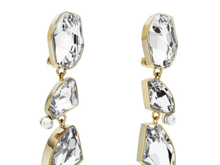 Tmx 5417827 As By Jason Wu Mosaic Long Drop Clip Earrings Clear Crystal 2 51 999357 Fort Wayne wedding dress