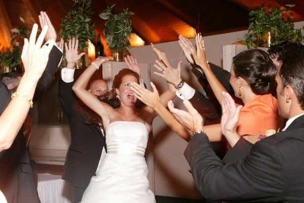 How will your family and friends react when you are introduced into your reception?