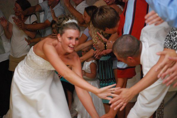 When was the last time you saw a victory lap at a Wedding?