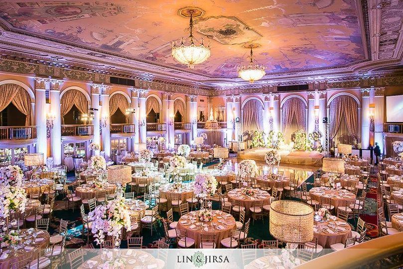 Biltmore Wedding Cost.Millennium Biltmore Hotel Venue Los Angeles Ca Weddingwire
