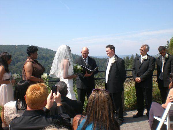 Wedding at Snoqualmie Falls