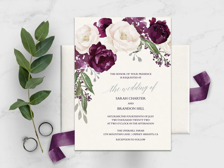 plum wedding invitations 51 181457 1562256805