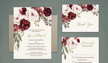 Noted Occasions Wedding Invitation Designs 1