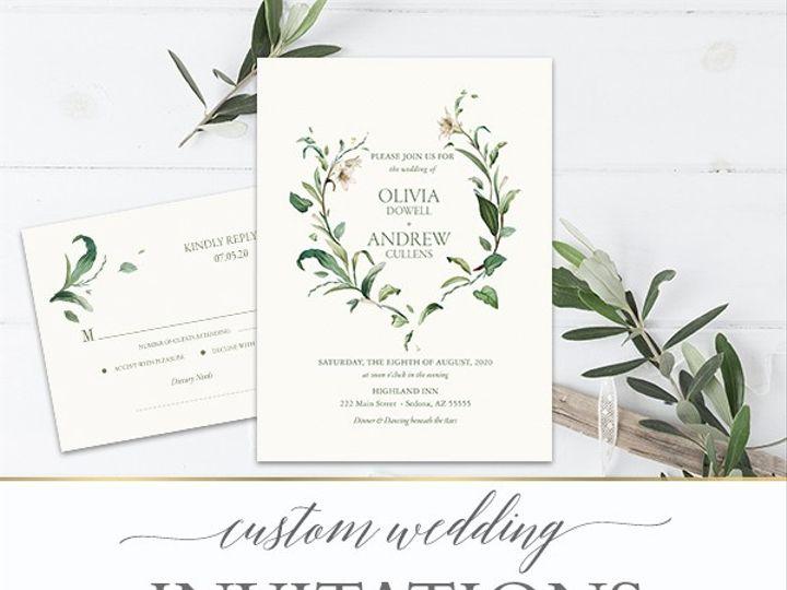Tmx 2019 Wedding Ideas Copy 51 181457 1562254078 Friday Harbor, WA wedding invitation