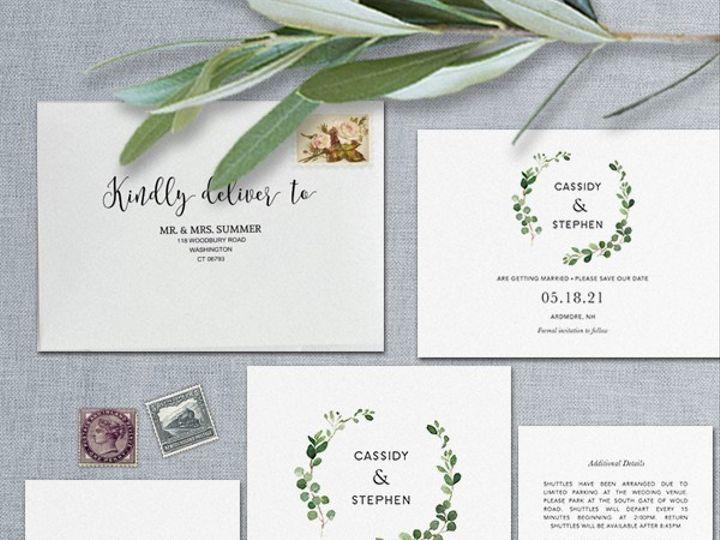Tmx 2019 Wedding Inviations 51 181457 1561470682 Friday Harbor, WA wedding invitation