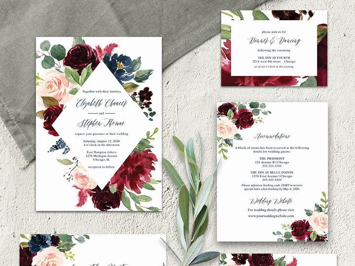 Tmx 2019 Wedding Invitation Template 51 181457 1561471048 Friday Harbor, WA wedding invitation