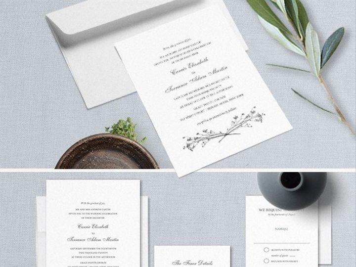 Tmx 2019 Wedding Invitations Copy 51 181457 1561470759 Friday Harbor, WA wedding invitation