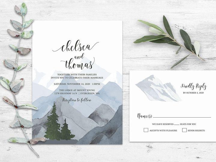 Tmx Forest Wedding Invitation Copy 51 181457 1561470857 Friday Harbor, WA wedding invitation