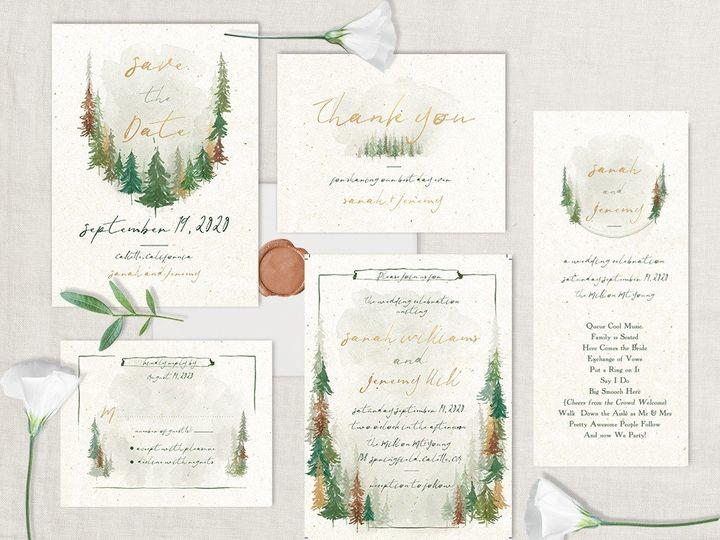 Tmx Forest Wedding Invitation 51 181457 1561470875 Friday Harbor, WA wedding invitation
