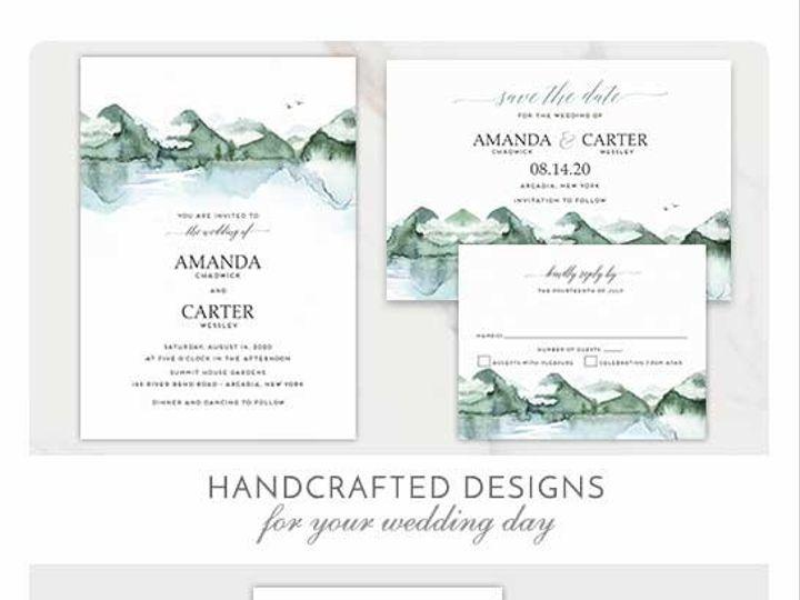 Tmx Mountain Wedding Invitation Template Copy 51 181457 1561470977 Friday Harbor, WA wedding invitation
