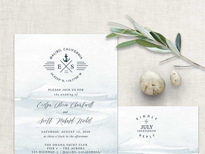 Tmx Nautical Wedding Invitation Template 51 181457 1561471087 Friday Harbor, WA wedding invitation