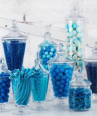 Blue Candy Buffet/Sweet Table