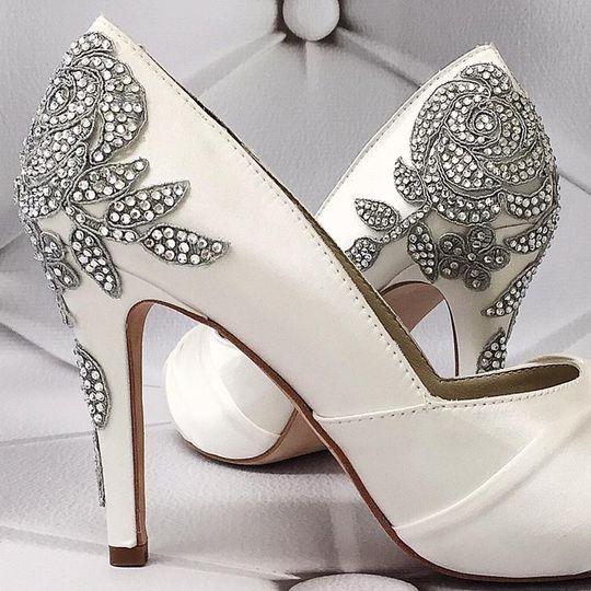 5a488f9b3a85c Ellie Wren Custom Wedding Shoes - Dress & Attire - Denver, CO ...