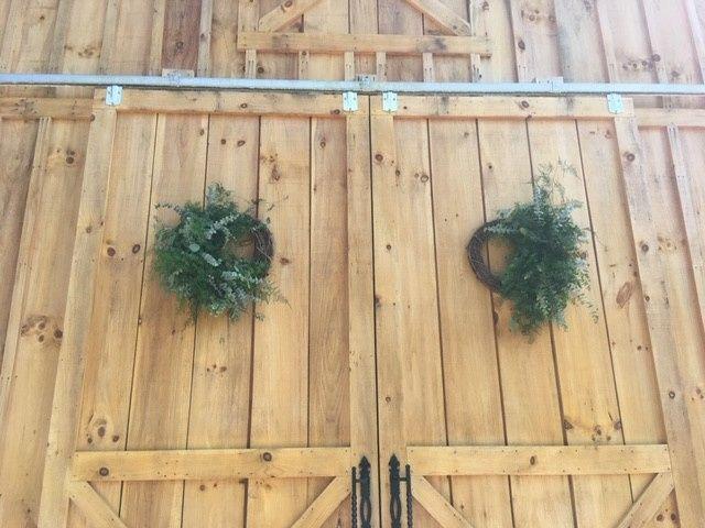 Tmx Barn Doors With Wreaths 51 1962457 159037401069247 Greensboro, NC wedding planner