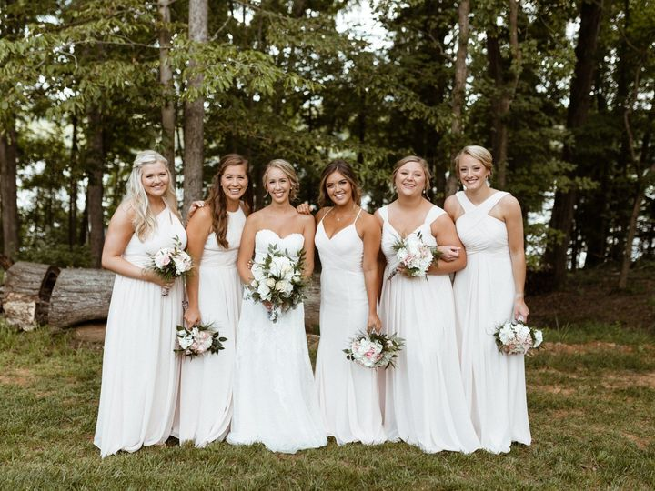 Tmx Bride With Bridesmaids Wearing Light Pale Pink Dresses 51 1962457 159037244484527 Greensboro, NC wedding planner