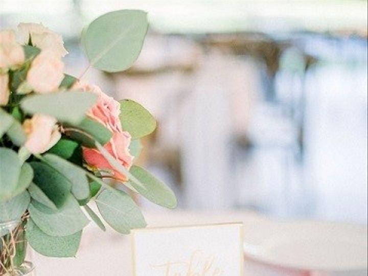 Tmx Gold Table Numbers 51 1962457 159036988154295 Greensboro, NC wedding planner