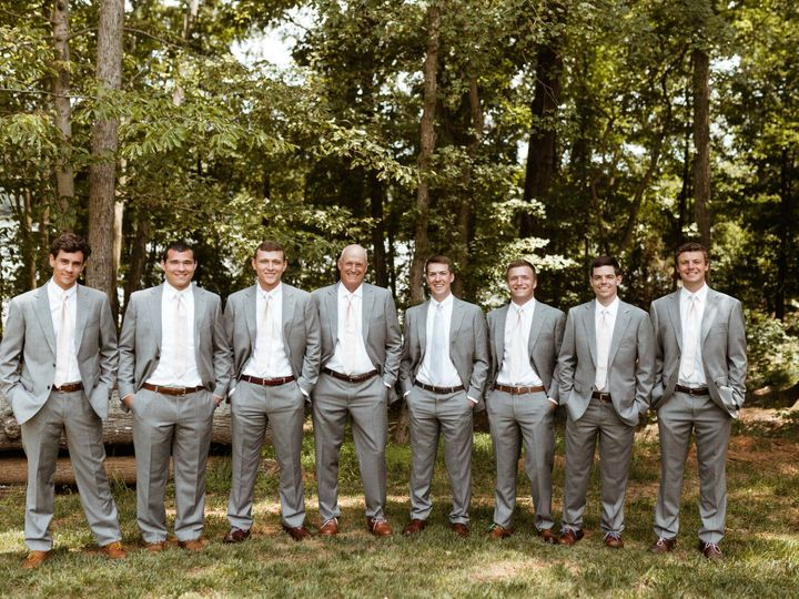 Tmx Groom And Groomsmen In Gray Suits 51 1962457 159037248641536 Greensboro, NC wedding planner