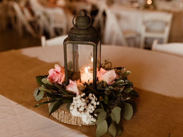 Tmx Latern Centerpiece With Flowers On Round Tree Base 51 1962457 159037550631210 Greensboro, NC wedding planner