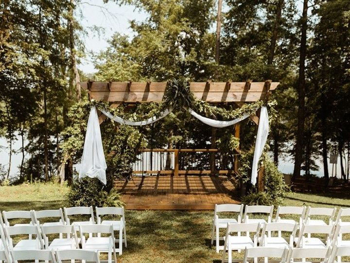 Tmx Wedding Arbor With Greenery 51 1962457 159037509430287 Greensboro, NC wedding planner