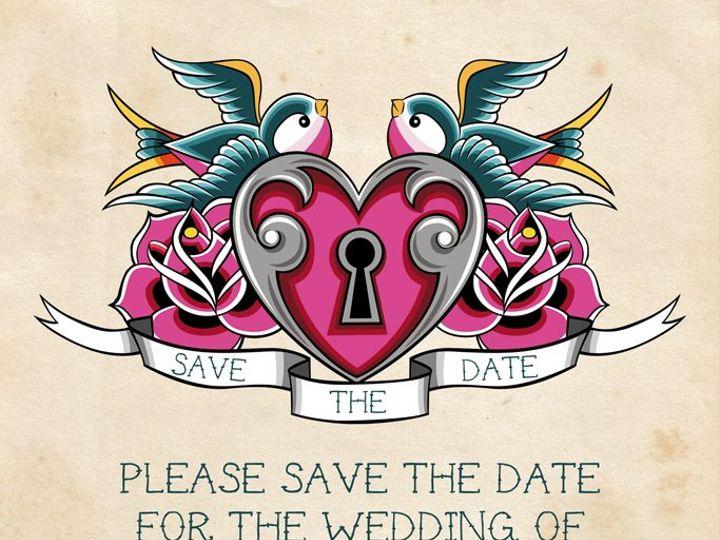 Tmx 1358434436420 5x7postcardkristasilvercopy Ocala, FL wedding invitation