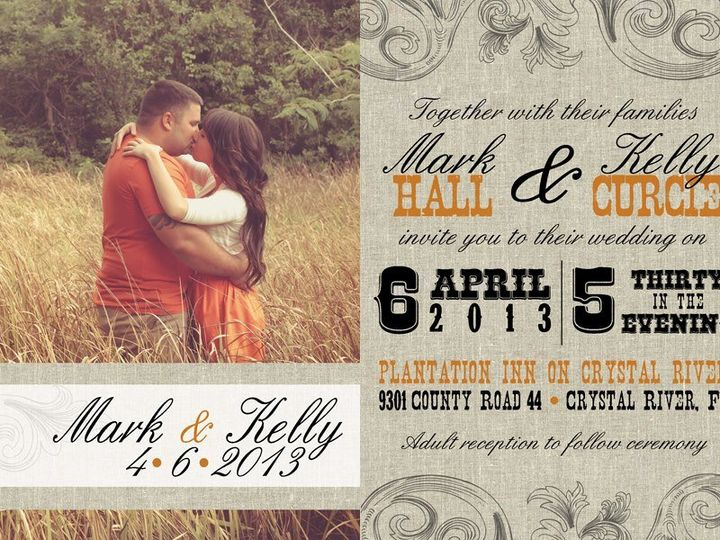 Tmx 1358434519552 2928904526376614498481960375575n Ocala, FL wedding invitation